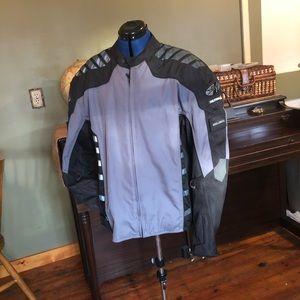 Joe Rocket Military Spec motorcycle jacket EUC 2XL
